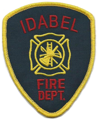 Idabel Fire Department Patch