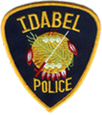 Idabel Police Department Patch